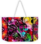 Summer Introspection Of An Extrovert Triptych Horizontal Weekender Tote Bag