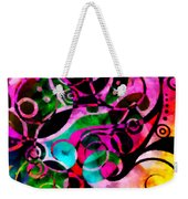 Summer Introspection Of An Extrovert Triptych Vertical Weekender Tote Bag