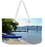 Summer Kayak Weekender Tote Bag
