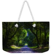 Summer Lane Weekender Tote Bag