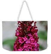 Summer Lilac Weekender Tote Bag