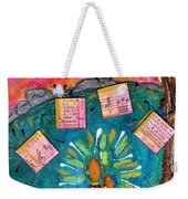 Summer Melodies Weekender Tote Bag