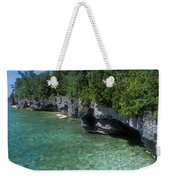 Summer Morning At Cave Point Weekender Tote Bag