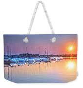 Summer Sails Reflections Weekender Tote Bag