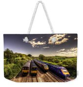Summer Saturday At Aller Junction Weekender Tote Bag