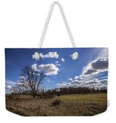 Summer Sky In The Fall Weekender Tote Bag