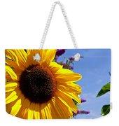 Summer Sunflower Weekender Tote Bag