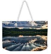 Summer Thunder Weekender Tote Bag by Nathan Larson
