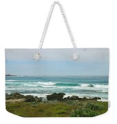 Summer Waters Aqua Weekender Tote Bag