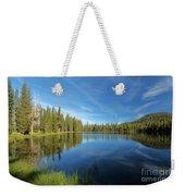 Summit Lake Blues Weekender Tote Bag