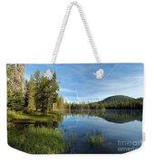 Summit Lake Shores Weekender Tote Bag