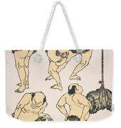Sumo Wrestlers, 1817 Weekender Tote Bag