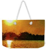 Sun Burned Weekender Tote Bag