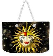 Sun Face  Weekender Tote Bag