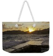 Sun Going Down Over Dubrovnik Weekender Tote Bag