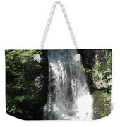Sun On The Bushkill Falls  Weekender Tote Bag
