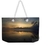 Sun On The Horizon Weekender Tote Bag