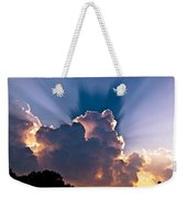 Sun Rays And Clouds Weekender Tote Bag