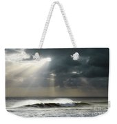 Sun Rays On Ocean Weekender Tote Bag