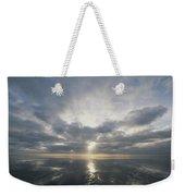 Sun Reflection Over Water, Wattenmeer Weekender Tote Bag