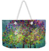 Sun Setting On An Autumn Afternoon Weekender Tote Bag