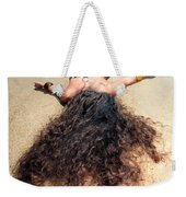 Sunbathing Woman Weekender Tote Bag