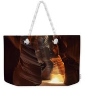 Sunbeam In Antelope Canyon Weekender Tote Bag