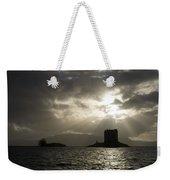 Sunbeams On Castle Stalker Weekender Tote Bag