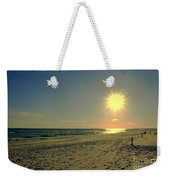 Sunburst At Henderson Beach Florida Weekender Tote Bag by Susanne Van Hulst