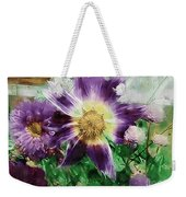 Sunburst In Lavender Weekender Tote Bag