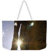 Sunburst Through Spire Weekender Tote Bag