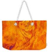 Sunburst Tiger On Fire Weekender Tote Bag