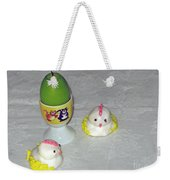 Easter Chicks And Kitties Weekender Tote Bag