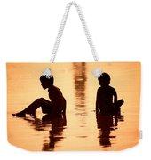 Sundown By The Bay Of Bengal II Weekender Tote Bag