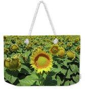 Sunflower And Honeybees July Two K O Nine  II Weekender Tote Bag