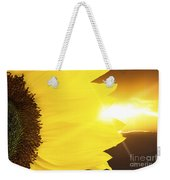 Sunflower And Sunset Weekender Tote Bag
