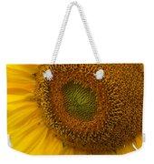Sunflower Closeup Weekender Tote Bag