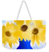 Sunflower Fantasy Still Life Weekender Tote Bag