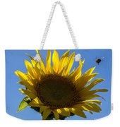 Sunflower For Snack Weekender Tote Bag