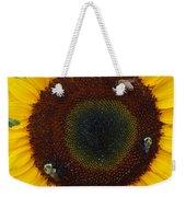 Sunflower Gathering Weekender Tote Bag
