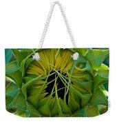 Sunflower Kisses Weekender Tote Bag