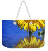 Sunflower Reflection Weekender Tote Bag