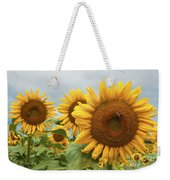 Sunflower Season Weekender Tote Bag