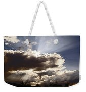 Sunlight And Stormy Skies Weekender Tote Bag by Mick Anderson