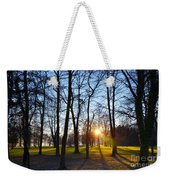 Sunlight Between The Trees Weekender Tote Bag