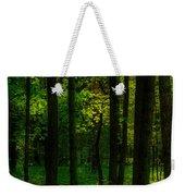 Sunlight In Forest Weekender Tote Bag