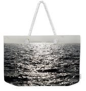 Sunlight On A Lake With Islands Weekender Tote Bag