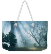 Sunlight Pierces The Morning Mist Weekender Tote Bag