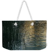 Sunlight Reflects On Rippled Water Weekender Tote Bag