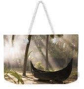 Sunlight Shining On A Canoe Weekender Tote Bag